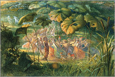 Wall sticker  Fairy Dance in a Clearing - Richard Doyle