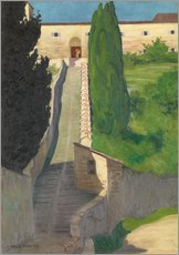 Wall sticker  The Steps of the Convent of San Marco, Perugia, 1913 - Felix Edouard Vallotton