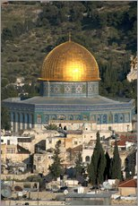Gallery print  Jerusalem and the Dome of the Rock - David Noyes