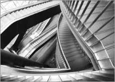 Gallery print  Stairs - Falko Follert