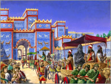 Wall sticker  New Year's Day in Babylon - Peter Jackson