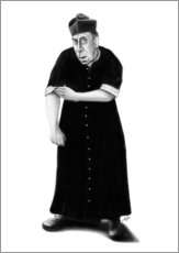 Wall sticker Don Camillo ready to rumble