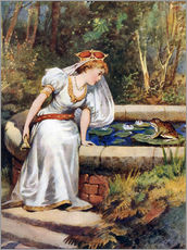 Gallery print  The Frog Prince - William Henry Margetson