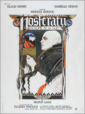 Gallery print  Nosferatu The Vampyre, French Poster