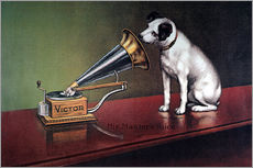Wall sticker  Victor Gramophone - François Barraud