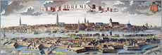 Gallery print  Bremen, Germany, 1719