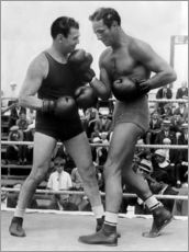 Wall sticker  Jack Dempsey and Max Baer