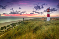 Wall sticker  Lighthouse List East (Elbow/Sylt) - Dirk Wiemer