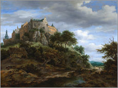 Wall sticker  The castle Bentheim - Jacob Isaacksz van Ruisdael