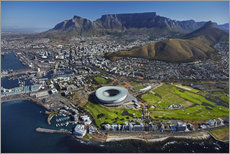 Wall sticker  Cape Town Stadium and Table Mountain - David Wall