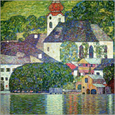 Canvas print  Church in Unterach, Attersee - Gustav Klimt