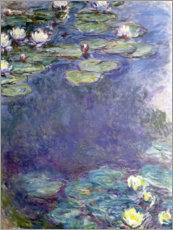 Acrylic print  Water Lilies - Claude Monet