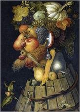 Gallery print  The Autumn - Giuseppe Arcimboldo