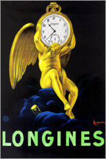 Wall sticker  Longinus watches - Leonetto Cappiello