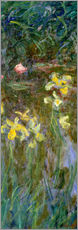 Wall sticker  Daffodils in the field - Claude Monet