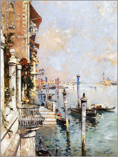 Wall sticker  The Grand Canal, Venice - Franz Richard Unterberger
