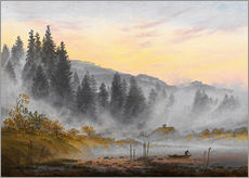 Wall sticker  The morning - Caspar David Friedrich