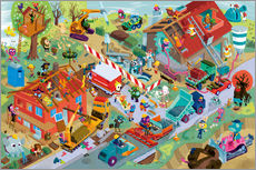 Gallery print  Construction Sites - Stephan Lomp