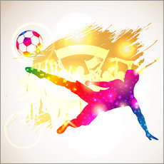 Wall sticker  Soccer Player - TAlex