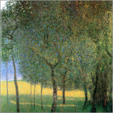 Wall sticker  Fruit trees on Attersee - Gustav Klimt