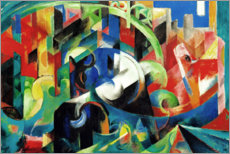 Wall sticker  Cattle (picture with cattle I) - Franz Marc