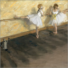 Wall sticker  Dancers at the ballet bar - Edgar Degas