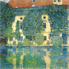 Canvas print  Schloss Kammer on the Attersee III - Gustav Klimt