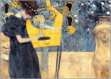 Wall sticker  The music - Gustav Klimt