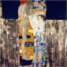 Wall sticker  The Three Ages - Gustav Klimt