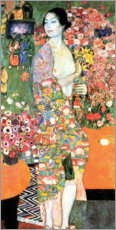 Acrylic print  The dancer - Gustav Klimt