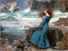 Canvas print  Miranda - The Tempest - John William Waterhouse