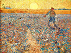 Gallery print  Sower at Sunset - Vincent van Gogh