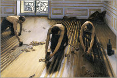 Gallery print  The parquet planers - Gustave Caillebotte