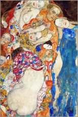 Premium poster  The bride - Gustav Klimt