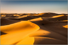Gallery print  Desert landscape at sunrise - Andreas Wonisch