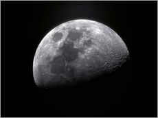 Gallery print  Waxing gibbous moon - Roth Ritter