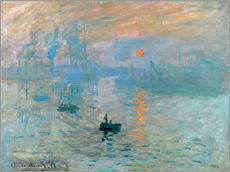Gallery print  Sunrise - Claude Monet