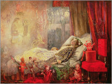 Gallery print  The Stuff that Dreams are Made Of - John Anster Fitzgerald
