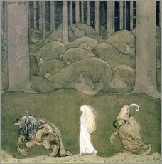 Wall sticker The Princess and the Trolls, 1913