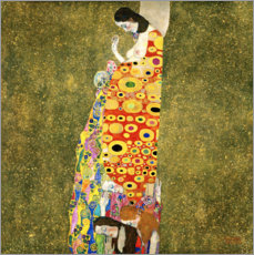 Wall sticker  Hope II - Gustav Klimt