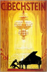 Gallery print  exposition - C. Bechstein - Advertising Collection