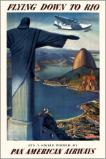 Wall sticker  Flying down to Rio - Travel Collection