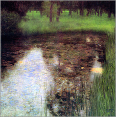 Gallery print  The swamp - Gustav Klimt