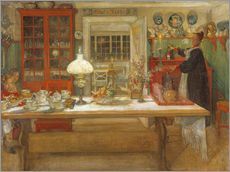 Wall sticker  Getting Ready for a Game - Carl Larsson