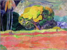 Canvas print  Fatata te Moua - Paul Gauguin