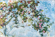 Gallery print  The roses - Claude Monet