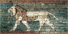 Wall sticker  Lion mosaic at the temple of Babylon