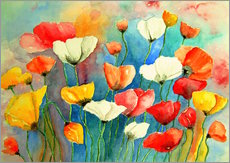 Gallery print  Colorful poppies - siegfried2838