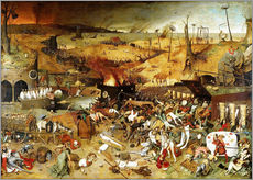 Gallery print  The Triumph of Death - Pieter Brueghel d.Ä.