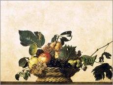 Wall sticker  Fruit Basket - Michelangelo Merisi (Caravaggio)